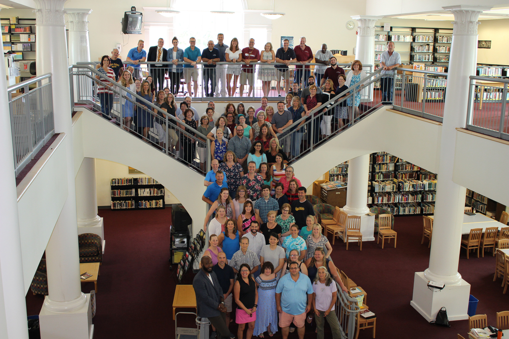 GMHS Staff 8/22/19, Welcome Back!