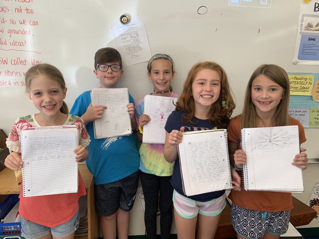 4th Grade Writers